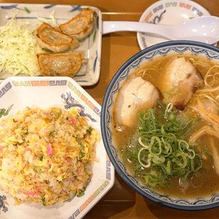 ラーメン定食(元祖赤のれん節ちゃんラーメン 野間店)