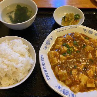麻婆豆腐定食(好吃餃子 )