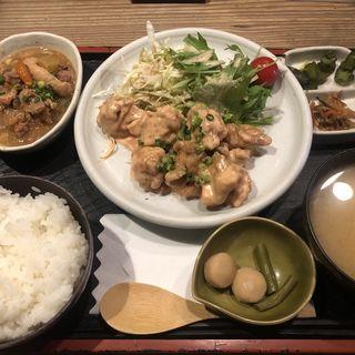 日替わり:鶏ももの明太マヨ(鳥一 外苑前店 (とりいち))