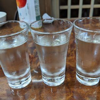 山本3種飲み比べ