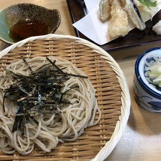 天ざる蕎麦(深水庵)