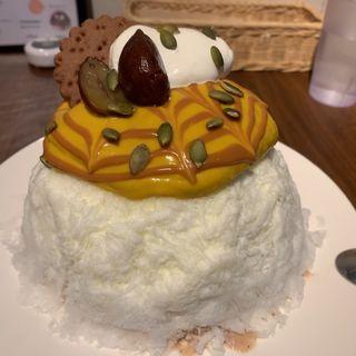 南瓜マロンミルク(ボンヌ カフェ 十条店 (Bonnel Cafe))