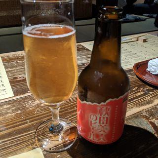 秋田美人のビール(なまはげ 銀座店 (ナマハゲ))
