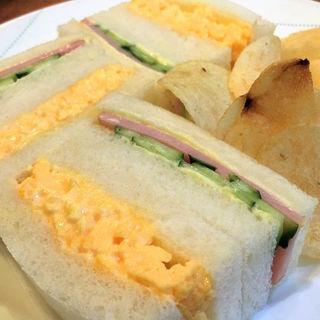 ミックスサンドイッチ(スイートハウスわかば )