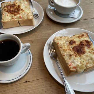 ポテトチーズトースト(アトリエ・モリヒコ)