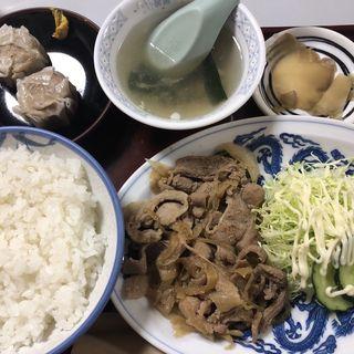 豚肉の生姜焼(三喜屋)
