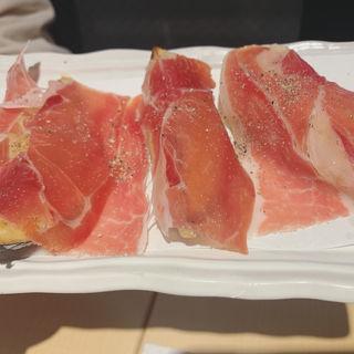 ナス プロシュート(天ぷらとワイン大塩 日比谷店)