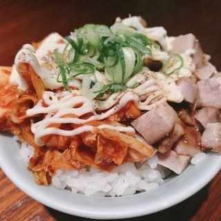 キムマヨご飯(濃厚ラーメン かなや)