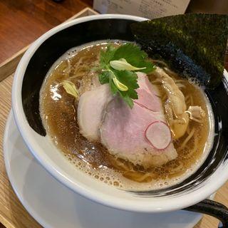 煮干醤油ラーメン(麺処しろくろ)