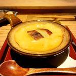 下仁田葱と海老出汁の味噌グラタン