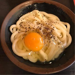 釜バター(手打十段 うどんバカ一代)