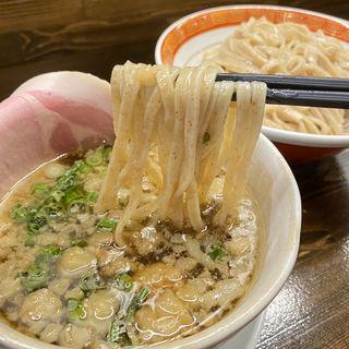 背脂たまりしょうゆ肉つけ麺(限定)(麺や一芯)