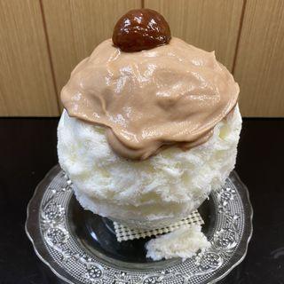 くりのかき氷(六花 (リッカ))
