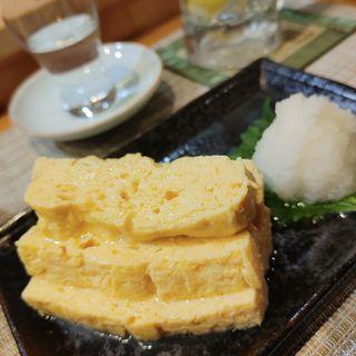 だし巻き玉子(つばき食堂 銀座店)