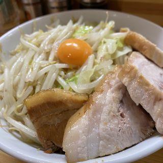 まぜそば(醤油・並・肉増し)(麺処 マゼル (MAZERU))