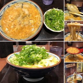牡蠣たまあんかけ(丸亀製麺 新宿三井ビル店 (まるがめせいめん))