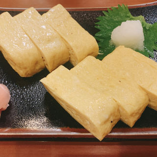 玉子焼(特性たれで焼いた味)