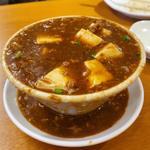 こぼし麻婆豆腐