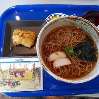 いにゃり寿司&温かいそばセット(カフェ ブルーゾーン (BLUE ZONE))