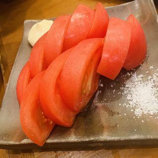 冷しトマト(真面目焼鳥 助平 )