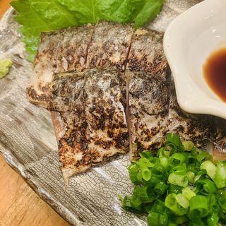 炙りしめ鯖(真面目焼鳥 助平 )