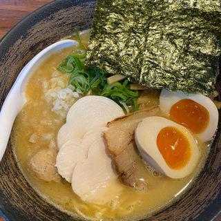 濃厚 鶏醤油らぁ麺(麺屋 武一神戸本店)
