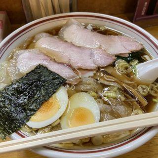 手打ちチャーシューワンタン麺(くぬぎ )