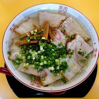 塩そばチャーシュー(大)(中華そば 麺屋7.5Hz 東住吉店 (7.5ヘルツ))