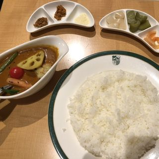 野菜カレー(新宿中村屋本店)