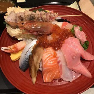 大漁丼(二代目野口鮮魚店)