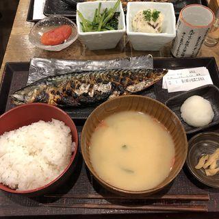 鯖の文化干し焼き定食(越後屋平次 (エチゴヤヘイジ))