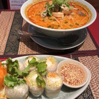 トムヤムクンヌードル(タイレストラン Smile Thailand (スマイルタイランド))