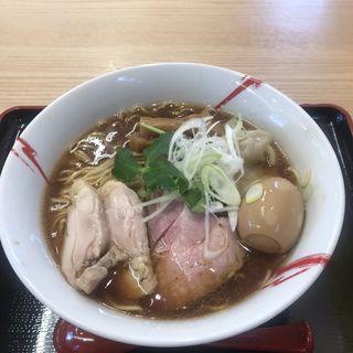 特製あさり鶏SOBA -醤油-(麺屋勝天)