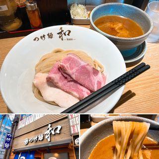カレーつけ麺(つけ麺 和 仙台駅東口店)