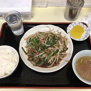 レバニラ炒め(幸楽 )