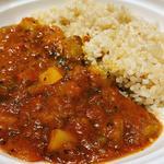カレーとスープのセット(ラタトゥイユカレー)