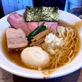 特肉中華そば(醤油・中太麺)(仙臺自家製麺こいけ屋)