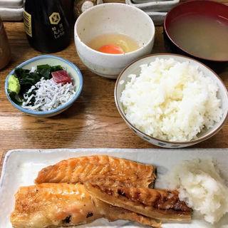 鮭ハラス定食(魚力)
