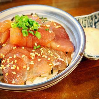 漬けマグロ丼(貝節麺raik)