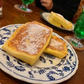 フレンチトースト(喫茶・定食 キツネ雨)