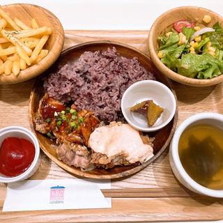 選べるチキン竜田定食(ABC canteen)