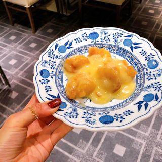 海老のマヨネーズソース(中国料理 花梨)