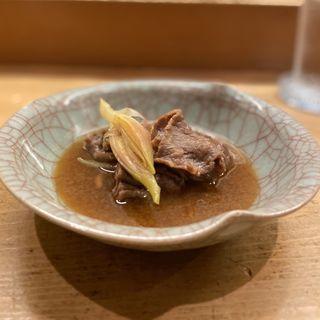 牛肉と茗荷の鋤焼(花いち )