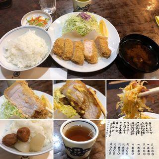 ロースかつ定食(丸五 (まるご))