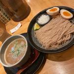 鶏塩つけ麺 (大盛)