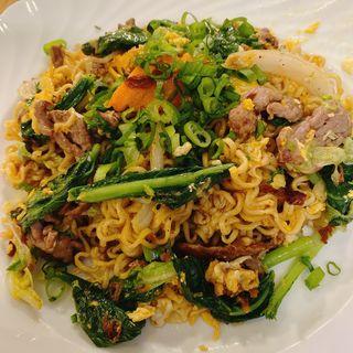 ハノイ風玉子麺と牛肉炒めセット