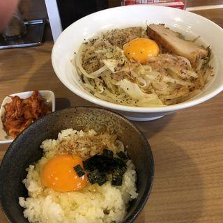 MAZEそば(麺屋ガテンZ)