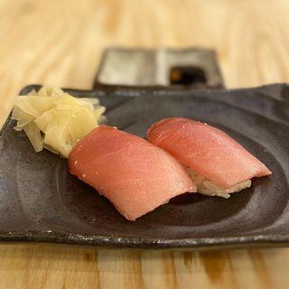 マグロ寿司(中トロ)