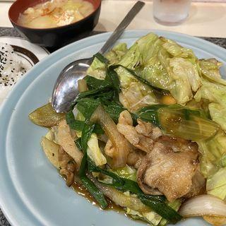スタミナ焼き定食(洋庖丁 池袋店 )