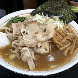 肉そば(肉大)
